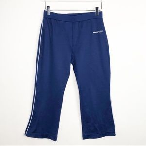 REEBOK Active Capri Pants Blue Medium